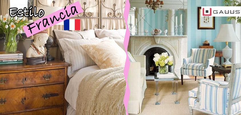 Estilo francia decoraci n del hogar blog gauus for Blog decoracion hogar