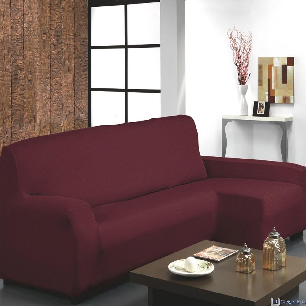 Fundas para sofa con cheslong hermosa funda para sofa cheslong free funda para sof teide chaise - Fundas para cheslong ...