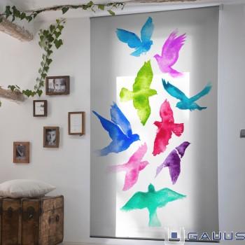Ideas para combinar estores y cortinas blog gauus - Combinar cortinas y estores ...