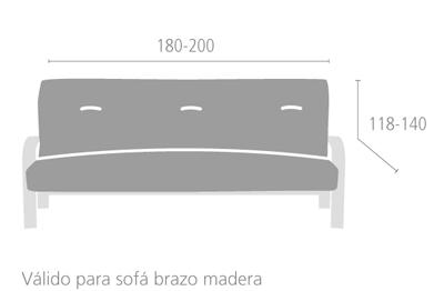 Medidas Funda Sofá Clic Clac